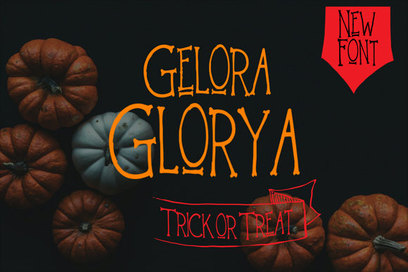 Print on Demand: Gelora Glorya Display Font By brnk1314