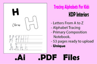 Print on Demand: Handwriting Workbook for Kids Graphic KDP Interiors By KDP_Interior_101