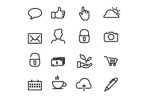 Icons for IOS, Android & Apps Graphic Icons By deniprianggono78