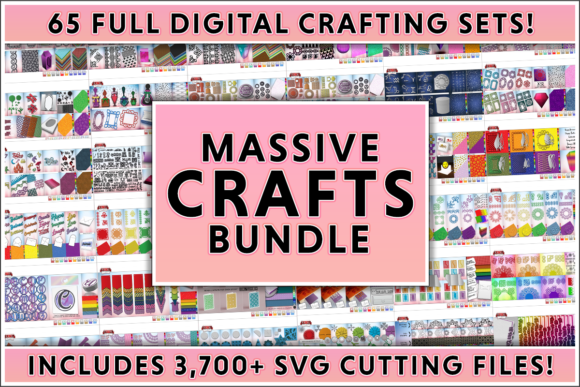 Print on Demand: Massive Crafts Bundle  By gentlemancrafter