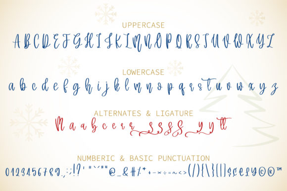 Merry Christmas Font Font