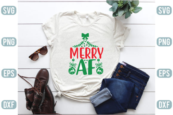 Merry Af Graphic Crafts By creativejasim2