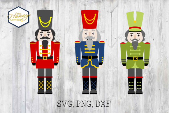 Nutcracker Bundle SVG DXF PNG File Graphic Crafts By The Honey Company