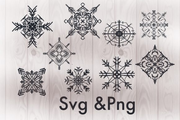 Snowflake Svg - Snowflake Clipart -snow Graphic 3D Christmas By PoyJazz