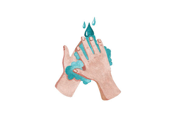 Washing Hands Designs & Drawings Craft Cut File By Creative Fabrica Crafts