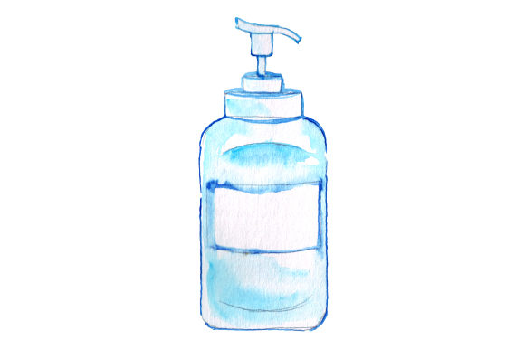 Sanitizer Bottle Designs & Drawings Craft Cut File By Creative Fabrica Crafts
