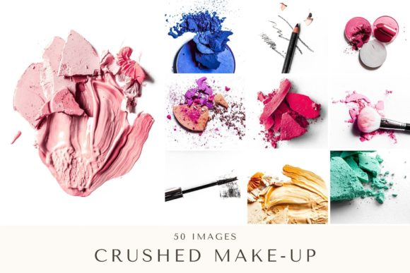 Print on Demand: 50 Images | Crushed Make-Up Bundle Graphic Beauty & Fashion By anneleven