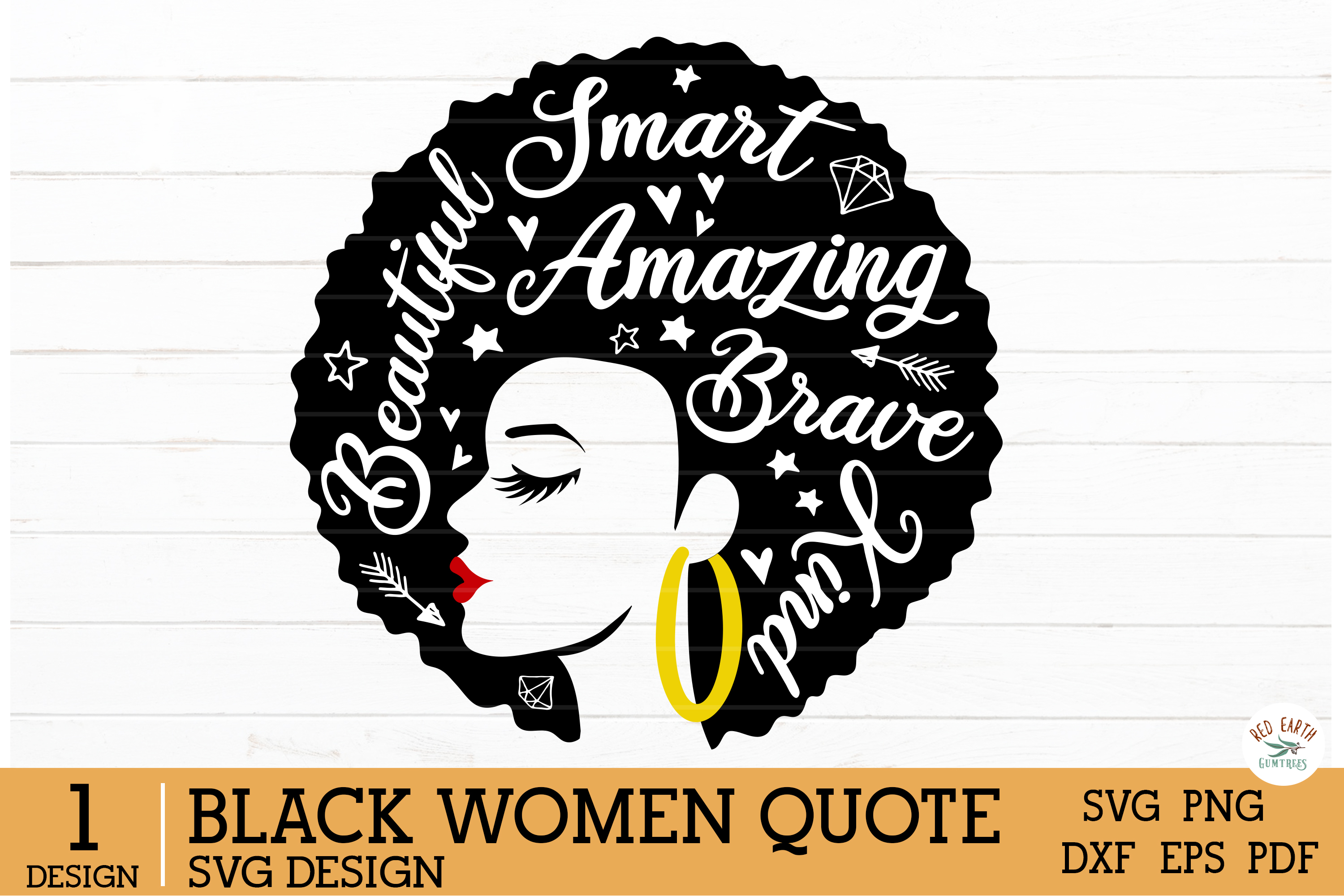 African American Black Woman Quotes SVG File