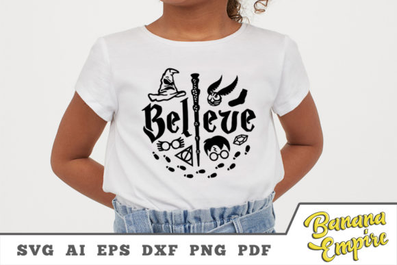 Print on Demand: Believe in Magic Graphic Crafts By Banana Empire