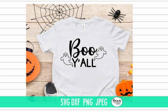 Print on Demand: Boo Y'all Halloween SVG Graphic Crafts By Bean and  Bird