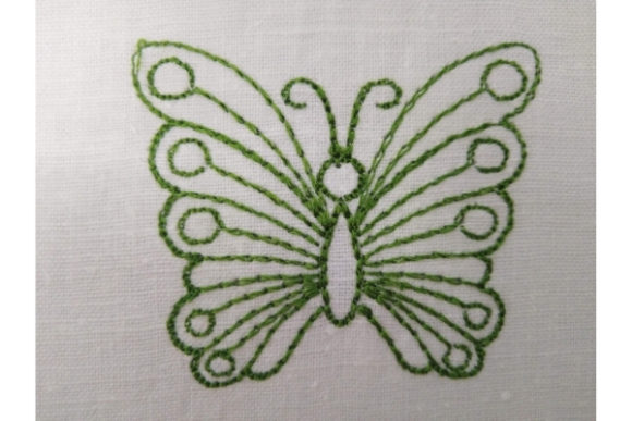 Butterfly Embroidery Item