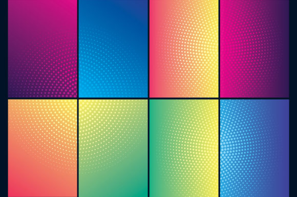 Covers Design with Gradient Background Graphic Backgrounds By medelwardi