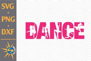 Print on Demand: Dance Graphic Crafts By SVGStoreShop