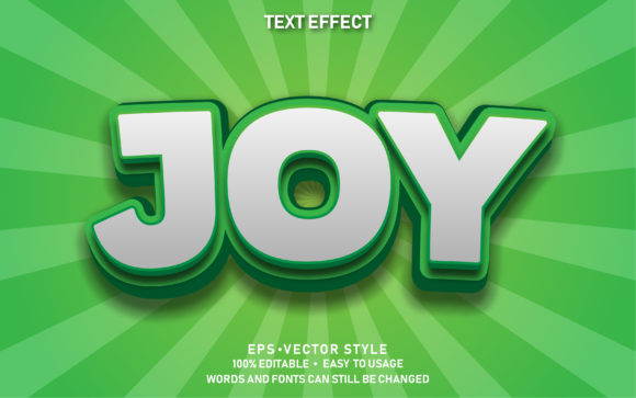 Editable Text Effect Cute Joy Premium Graphic Graphic Templates By yosiduck