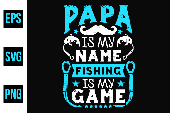 Print on Demand: Fishing T Shirts Design Vector. Graphic Print Templates By ajgortee