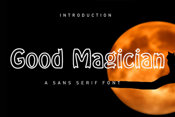 Print on Demand: Good Magician Display Font By giatstudios