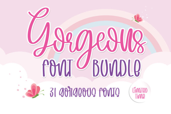 Gorgeous Font Bundle  By BitongType