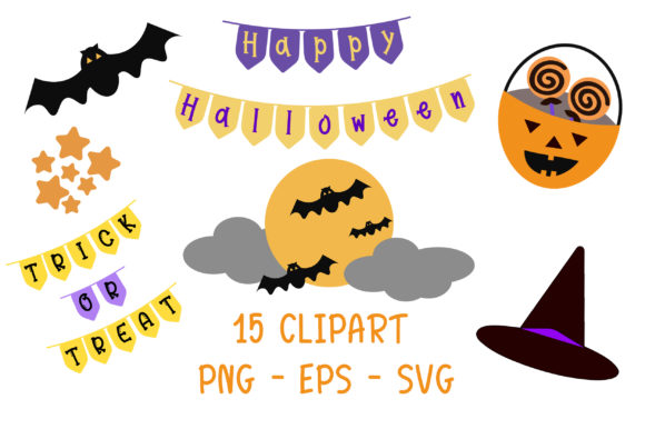 Halloween Clipart Graphic By Pearlydaisy Creative Fabrica