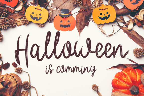 Print on Demand: Halloween is Coming Script & Handwritten Font By Inermedia STUDIO