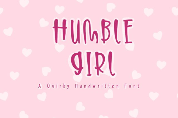 Print on Demand: Humble Girl Serif Font By KateType