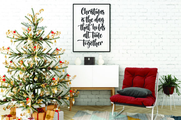 Melody Christmas Font Font