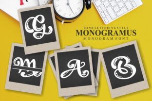 Print on Demand: Monogramus Decorative Font By EKNOJI
