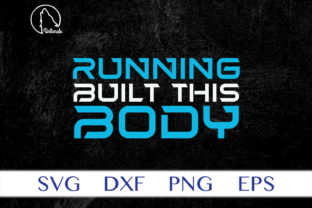 Print on Demand: Running Built This Body Graphic Crafts By Unlimab