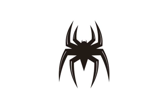 Spider Man Insect Silhouette Logo Design Graphic Logos By sore88