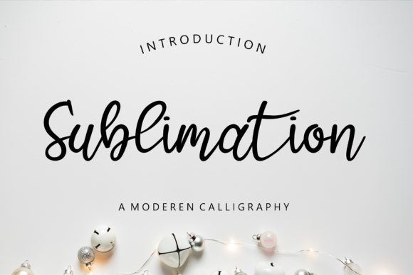 Print on Demand: Sublimation Script & Handwritten Font By giatstudios
