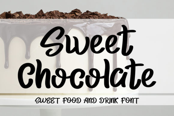 Print on Demand: Sweet Chocolate Script & Handwritten Font By Inermedia STUDIO