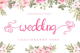 Print on Demand: Wedding Script & Handwritten Font By Inermedia STUDIO