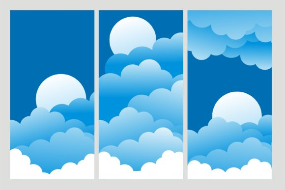 Print on Demand: Cloud Amazing Collection Graphic Illustrations By edywiyonopp