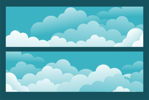 Print on Demand: Cloud Beautifull View Graphic Illustrations By edywiyonopp
