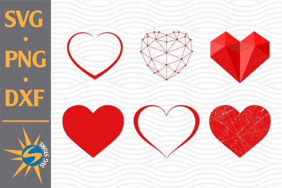 Print on Demand: Heart Graphic Crafts By SVGStoreShop