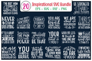 Print on Demand: Inspirational Design Bundle Graphic Print Templates By GraphicsBooth