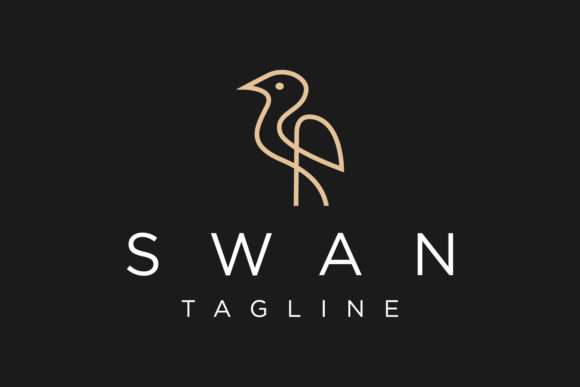 Swan Logo Design Template Graphic Logos By byemalkan
