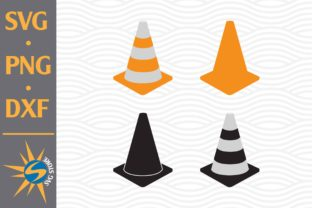 Print on Demand: Traffic Cone Graphic Crafts By SVGStoreShop