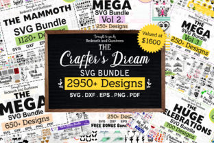 Print on Demand: The Huge Crafter's Dream Bundle Graphic Crafts By redearth and gumtrees 1