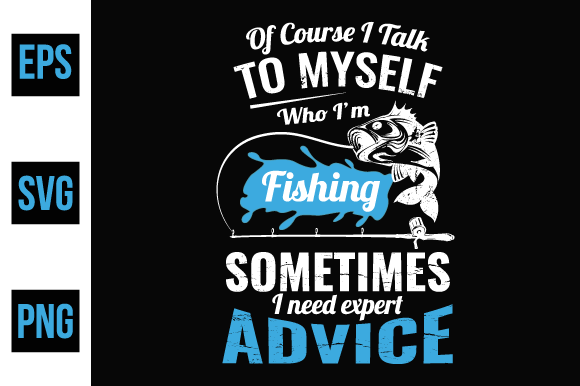 Print on Demand: Fishing T Shirt Design Vector. Graphic Print Templates By ajgortee