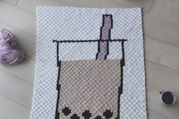 Boba Tea Graphgan Graphic Crochet Patterns By thesnugglery