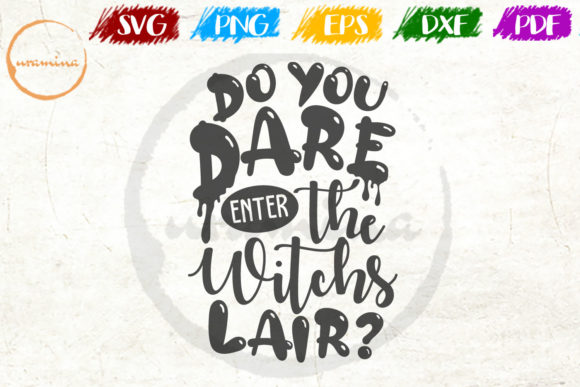 Print on Demand: Do You Dare Enter the Witchs Lair? Graphic Crafts By Uramina