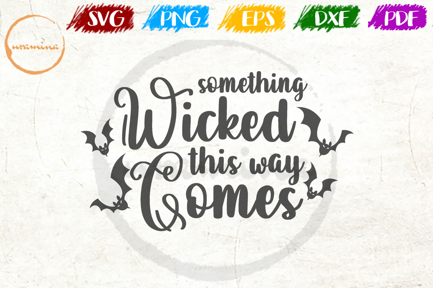 Something Wicked This Way Comes Graphic By Uramina Creative Fabrica