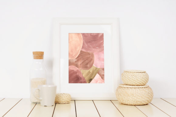 Abstract Modern Watercolor Bundle Graphic Item