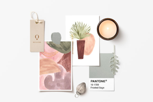 Abstract Modern Watercolor Bundle Graphic Design