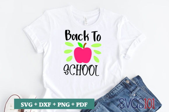 Back to School SVG Graphic Crafts By svgs101