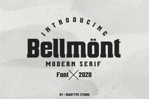 Print on Demand: Bellmont Serif Font By RHIDTYPE