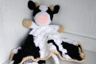 Bessie Cow Blanket Graphic Crochet Patterns By thesnugglery 1