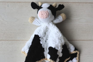 Bessie Cow Blanket Graphic Crochet Patterns By thesnugglery 2