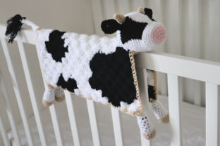 Bessie Cow Blanket Graphic Crochet Patterns By thesnugglery 3