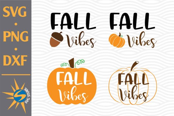Print on Demand: Fall Vibes Graphic Crafts By SVGStoreShop